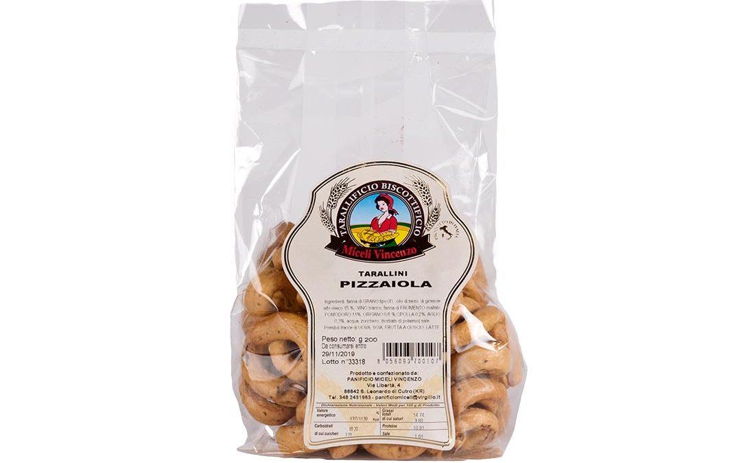 Tarallini pizzaiola
