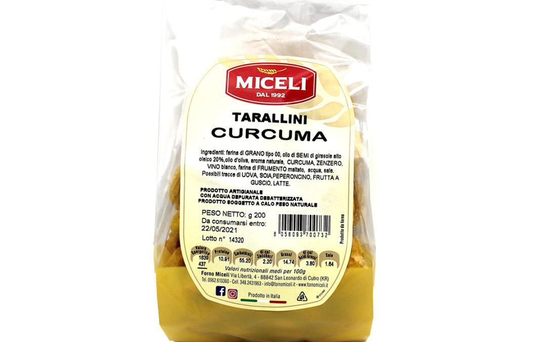 TARALLINI CURCUMA