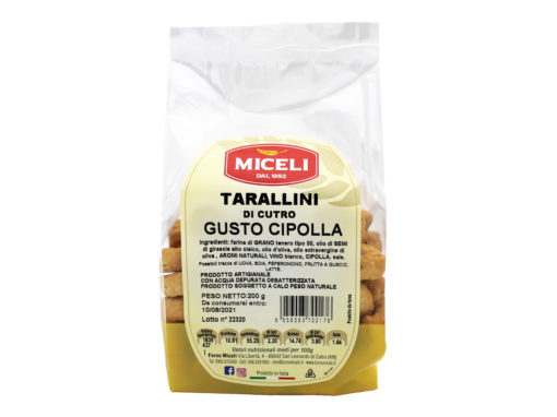 TARALLINI CIPOLLA